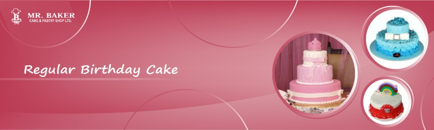 Regular Birthday Cake