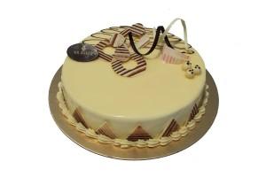 WHITE GANACHE CAKE